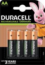 Duracell Recharge Plus AA Oplaadbare Batterijen - 4 stuks