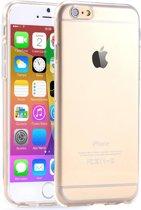 iphone 6s hoesje transparant doorzichtig ihoez-huismerk TPU Hoesje / Case / Cover Transparant Naked Skin