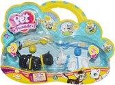 Pet Parade - Set met 2 katten en Accessoires - Zwart & Wit