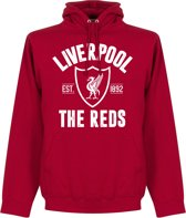 Liverpool FC Established Hooded Sweater - Rood - S