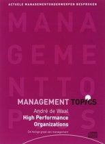 Andre de Waal over High Performance Organizations (luisterboek)