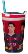 Snackeez FC Barcelona Drinkbeker en snackbox in 1