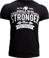 Gorilla Wear Hobbs T-Shirt - Zwart - XL