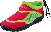 Beco Neopreen surf en Waterschoenen/ surfschoenen - Waterschoenen/ surfschoenen - Kinderen - rood / groen - 25