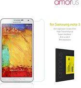 AMORUS 9H Screenprotector Tempered Anti-explosie voor Samsung Galaxy Note 3