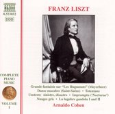 Liszt: Complete Piano Music Vol 1 / Arnaldo Cohen