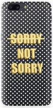 OnePlus 5 Hoesje Sorry not Sorry