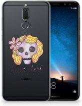 Huawei Mate 10 Lite Uniek TPU Hoesje Boho Skull
