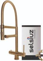 Selsiuz XL Gold met TITANIUM Combi Extra (Combi+) boiler