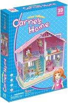 3D puzzel poppenhuis CARRIE'S HOME
