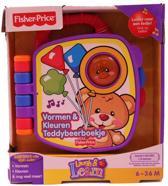 Fisher-Price Teddy's boek van vormen en kleuren