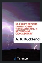 St. Paul's Second Epistle to the Thessalonians