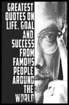 Quotes on Life, Goal and Success from Famous People Around the World