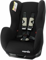 Autostoel Nania Cosmo SP - Groep 0/1/2 - Zwart