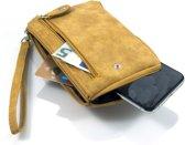 Portemonnee - telefoontasje geel