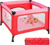 TecTake babybox reisbox opklapbaar Tommy reisbed - roze - 402206