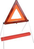 Gevarendriehoek Auto - Veiligheidsdriehoek - reflecterend en opvouwbaar met koffertje