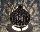 Oosterse tafellamp vintage cobra