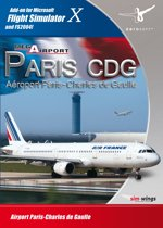 Mega Airport Paris Cdg FS X Add On Dvd Rom