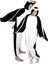 Onesie Volwassenenkostuum - Pluche Pinguïn - Kostuum - Maat M-L
