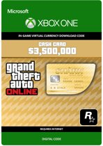 Grand Theft Auto V (GTA 5) - Whale Shark Cash Card $ 3.500.000 - Xbox One download