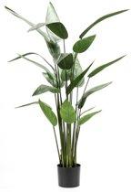 Emerald Kunstplant heliconia plant groen 125 cm 419837