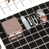 Lenzendoosje Partylens® 'Rose' inclusief spiegeltje | 5-delige accessoire set