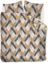 Beddinghouse Montero - Dekbedovertrek - Lits-jumeaux - 240x200/220 cm - Okergeel