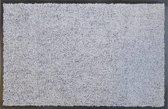 Zilvergrijze schoonloopmat 40 x 60 cm- Eco-Clean-Super absorberend
