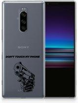 Sony Xperia 1 Uniek TPU Hoesje Gun DTMP