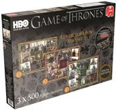 Game of Thrones box 2 3x500stukjes
