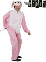 Varkentje kostuum voor volwassenen  - Verkleedkleding - One size