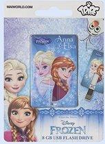 Tribe Iconic Card - Disney - Frozen - Anna Elsa - USB-stick - 8 GB