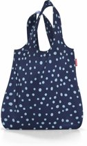 Reisenthel Mini Maxi Shopper - Opvouwbare boodschappentas - Polyester - 15L - Spots Navy Blauw
