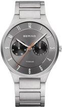 BERING 11539-779 - Horloge - Titanium - Grijs - 39 mm