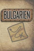 Bulgarien: Reisetagebuch, Notizbuch oder Urlaubsplaner mit Platz auf 120 wei�en linierten Dot Line Seiten zum Eintragen von Spr�c