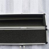 Zilver Aluminium 2 Stuk Jointed Pool Snooker Keu Case Hoekbescherming Cue Container Onderdelen Opbergdoos