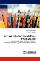An Investigation on Multiple Intelligences
