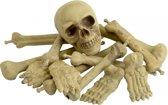 Halloween Zak met botten