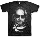 Big Lebowski Dude shirt heren zwart M
