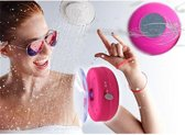 Waterproof Bluetooth Shower en Auto Speaker (Roze)