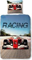 Good Morning 5732-P Racing - kinderdekbedovertrek - eenpersoons - 140x200/220 cm  - 100% katoen - multi