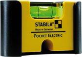 Stabila Pocket Electric 18115 Mini-Waterpas 7 Cm 1 Mm/M