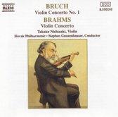 Brahms, Bruch: Violin Concertos / Nishizaki, Gunzenhauser
