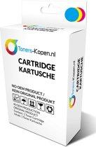 huismerk inkt cartridge voor Lexmark 43Xl kleur wit Label