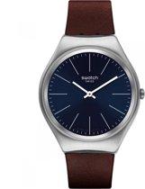 Swatch Skin Irony Skinoutono horloge  - Bruin