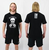 Bones Sportswear Cotton Unisex T-shirt Black maat M