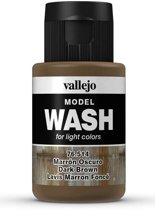 VALLEJO Model Wash Dark Brown 35ml