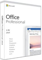 Microsoft Office Professional 2019 - 1 licentie -