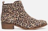 Ann Rocks Enkellaarsjes luipaard - Maat 36